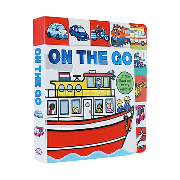 On the Go : Lift The Flap Book (Board Book)