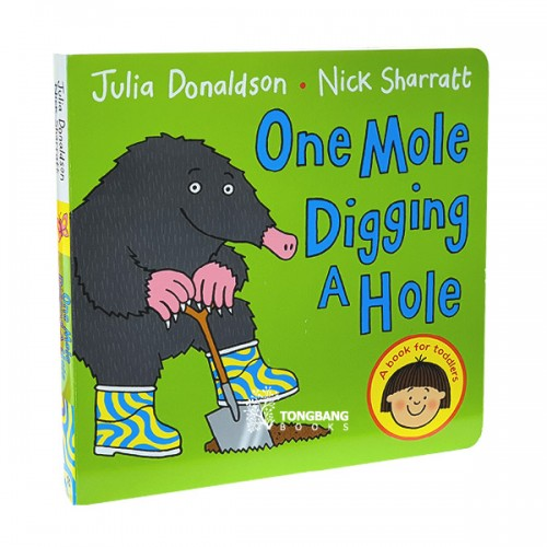 One Mole Digging A Hole (Board book, 영국판)