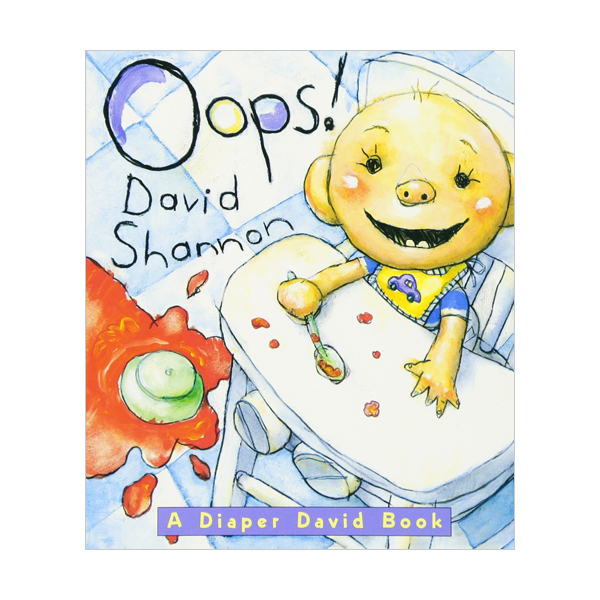 [스콜라스틱] Oops! : A Diaper David Book (Board Book)