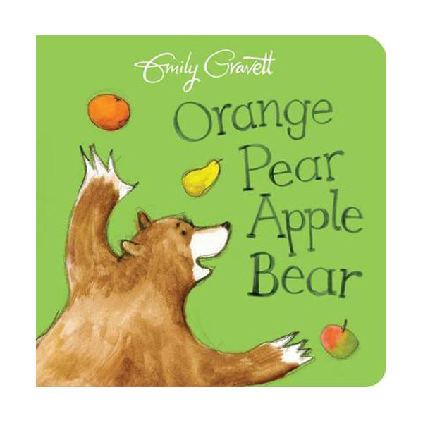 Orange Pear Apple Bear (Board book, 영국판)