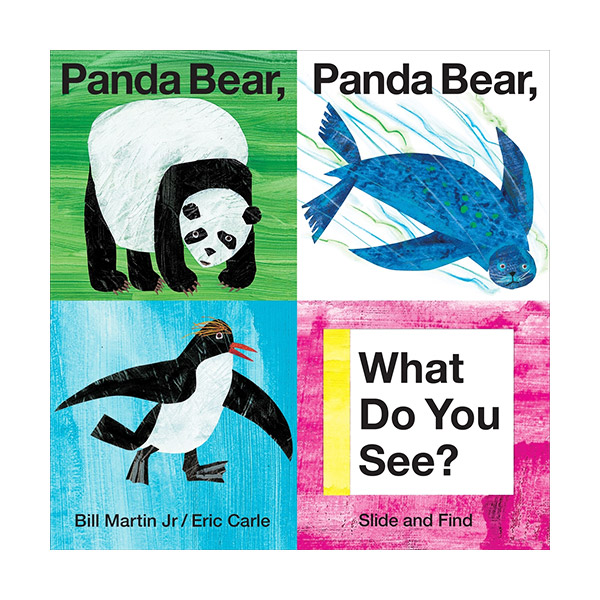 Panda Bear, Panda Bear, What Do You See? : Slide and Find (Board Book)