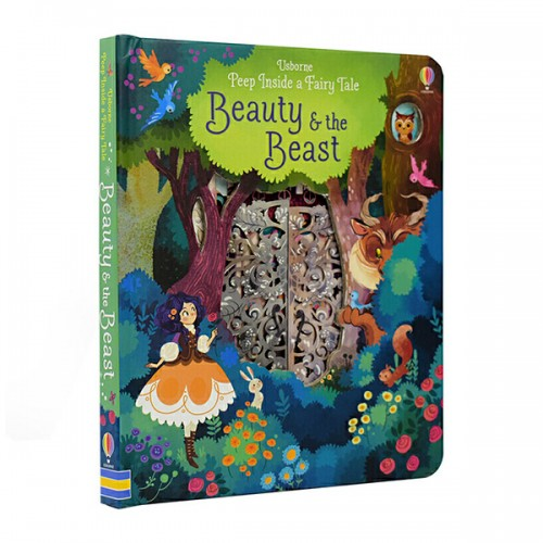 Peep Inside a Fairy Tale : Beauty & The Beast (Board book, 영국판)