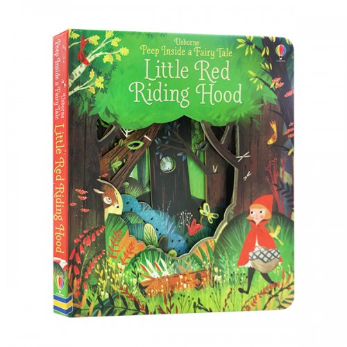 Peep Inside a Fairy Tale : Little Red Riding Hood (Board book, 영국판)