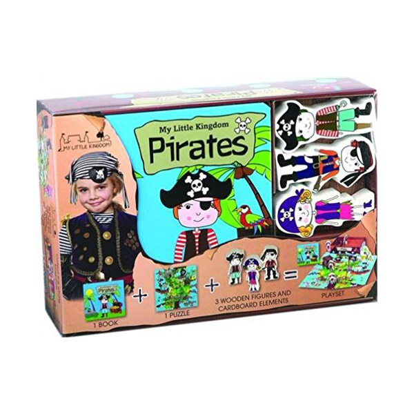 Pirates : My Little Kingdom (Board book)