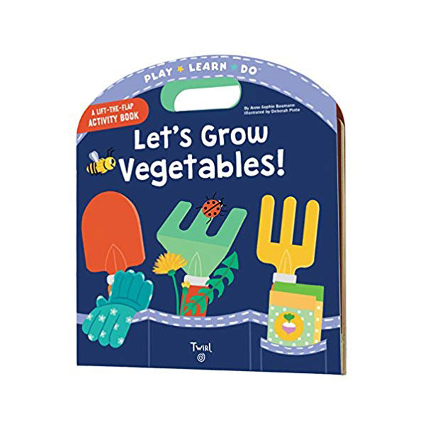 Play Learn Do : Let's Grow Vegetables! (Boardbook)