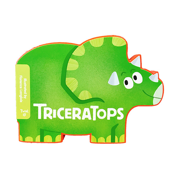 PlayShapes : Triceratops (Board book)