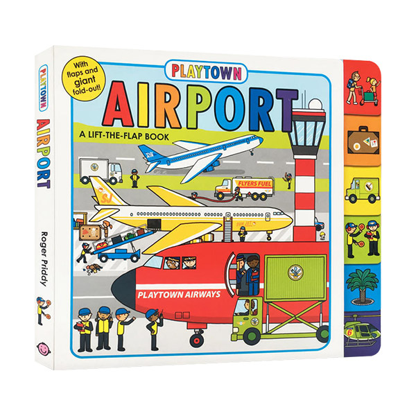 Playtown : Airport : Lift The Flap Book (Board Book)