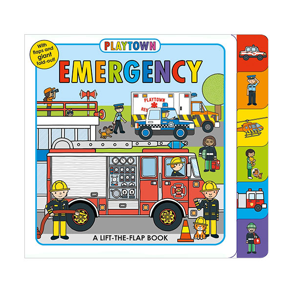 Playtown : Emergency (Board book)
