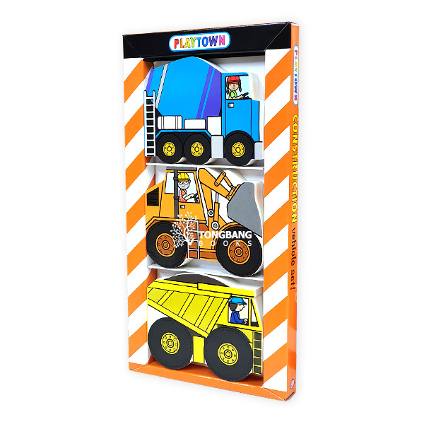Playtown Chunky Pack: Construction (Board book, 3종) (CD미포함)