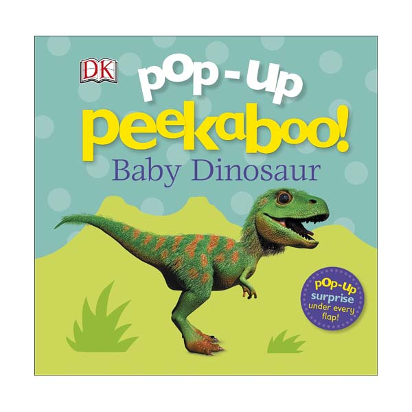 Pop-Up Peekaboo! Baby Dinosaur (Board book, 영국판)
