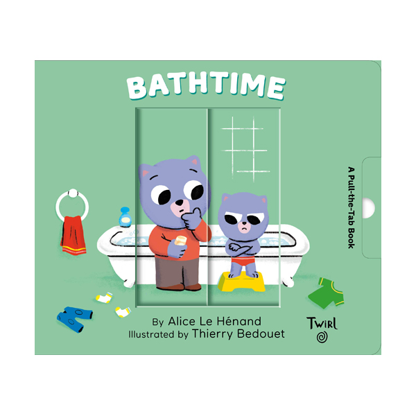 Pull and Play Books : Bathtime (Board book)