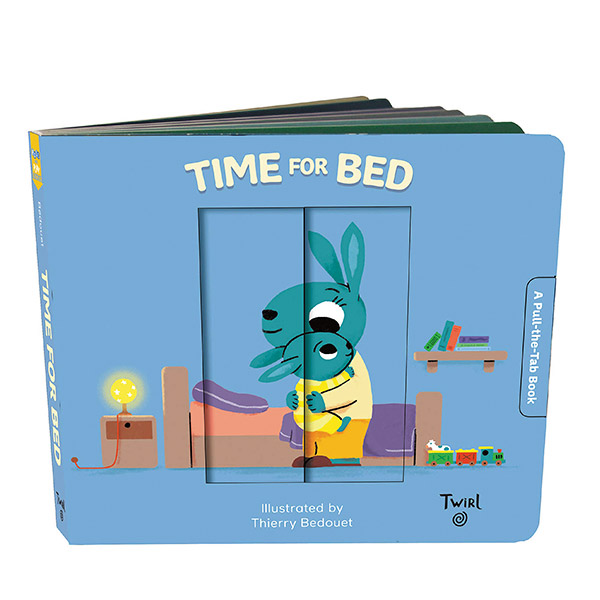 Pull and Play Books : Time for Bed (Boardbook)