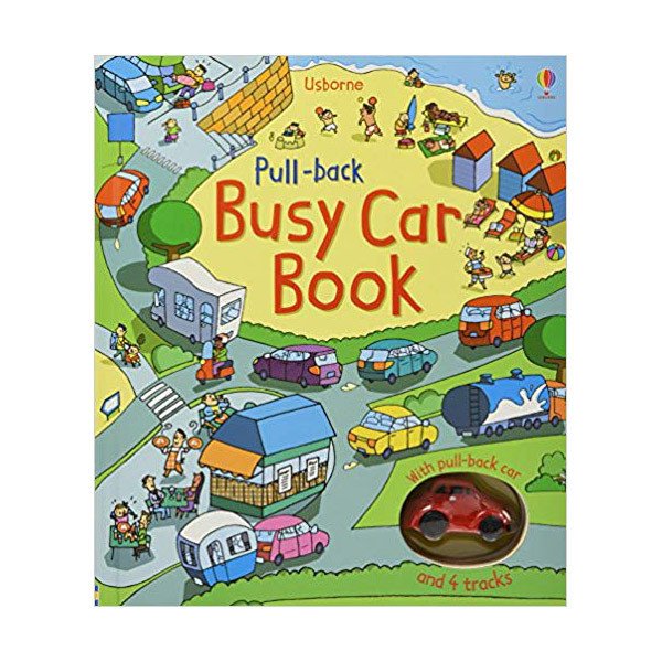 Pull-Back Busy Car (Board Book)
