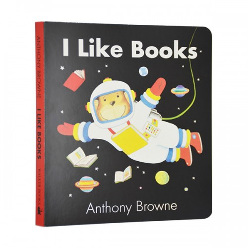 RL 0.8 : Anthony Browne : I Like Books (Board book /영국판)