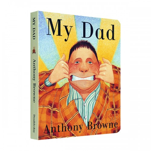 RL 1.4 : Anthony Browne : My Dad (Board Book / 영국판)