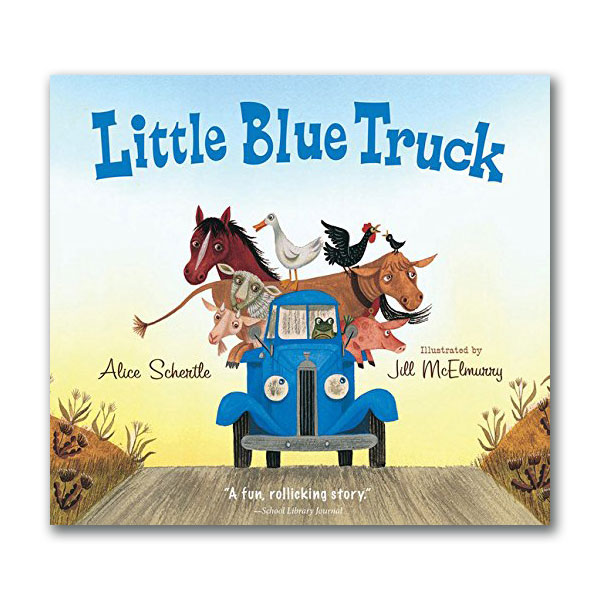 RL 1.5 : Little Blue Truck (Board book)