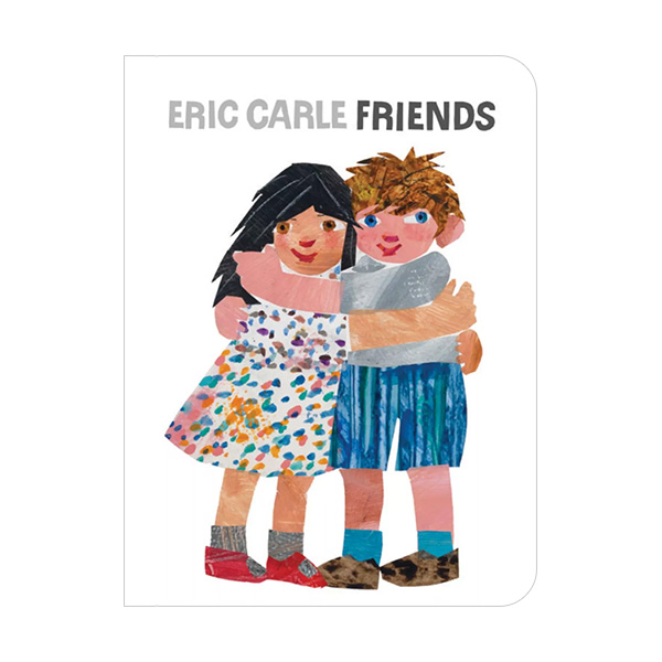 RL 1.6 : Eric Carle : Friends (Board Book)
