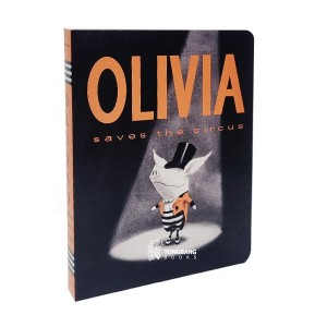 RL 1.9 : Olivia Saves the Circus (Board Book)