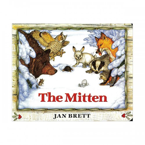 RL 2.3 : Jan Brett : The Mitten (Board Book)