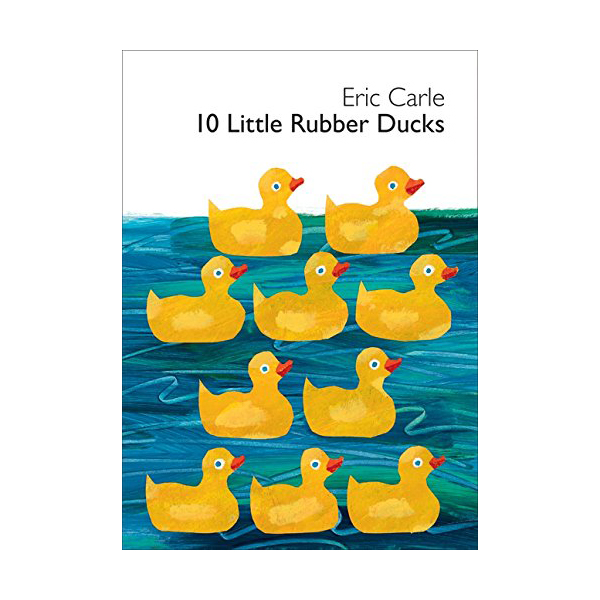 10 Little Rubber Ducks (Board Book)
