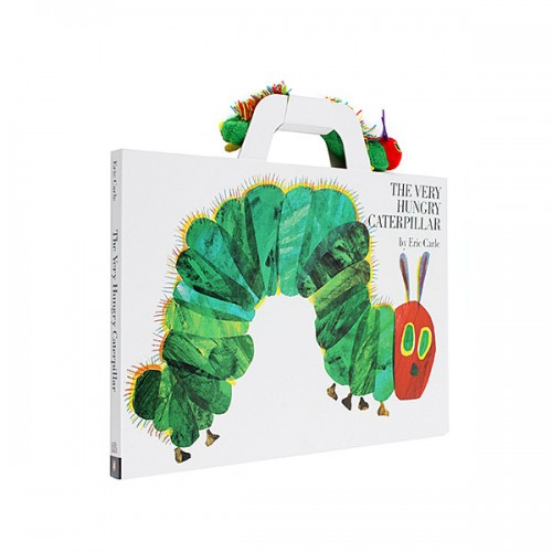 [베스트★] The Very Hungry Caterpillar with Plush Package : 배고픈 애벌레 (Giant Board Book)
