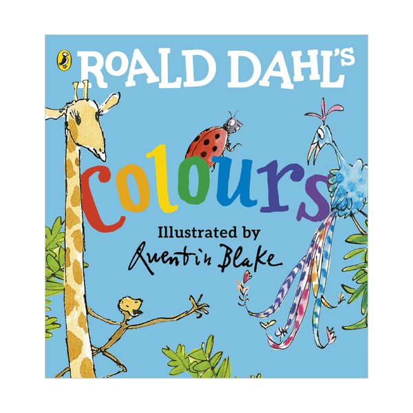 Roald Dahl's Colours (Board book, 영국판)