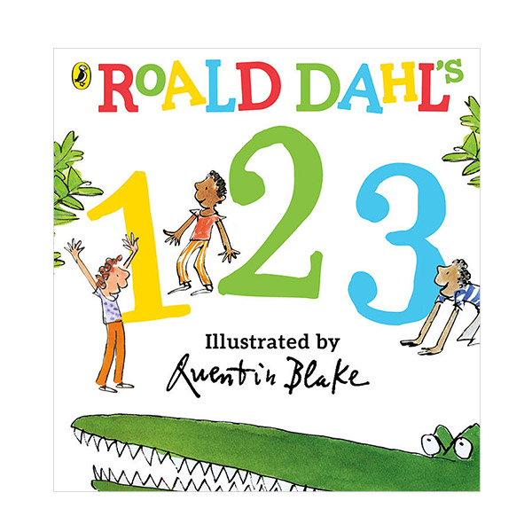 Roald Dahl's 123 (Board book, 영국판)