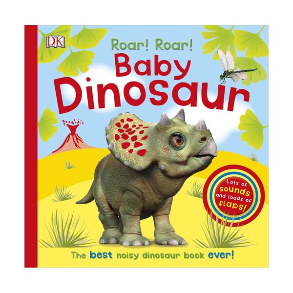 Roar! Roar! Baby Dinosaur (Board book, Sound Book, 영국판)