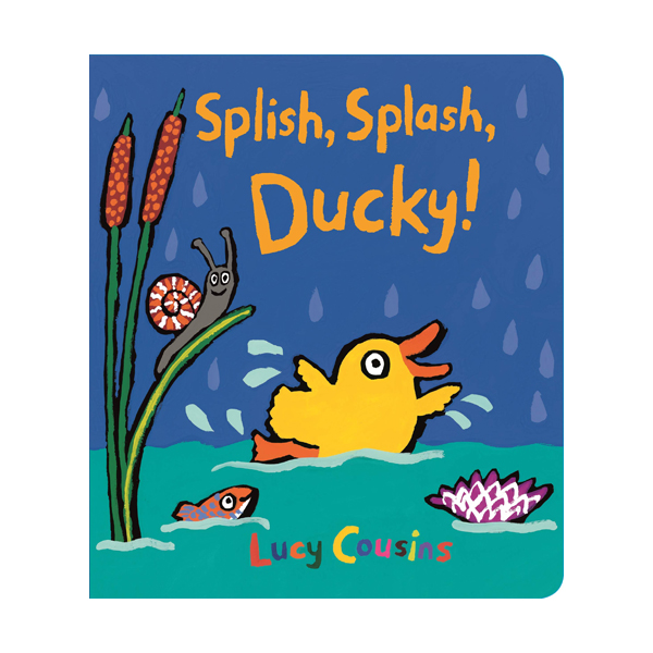 Splish, Splash, Ducky! (Board book, 영국판)