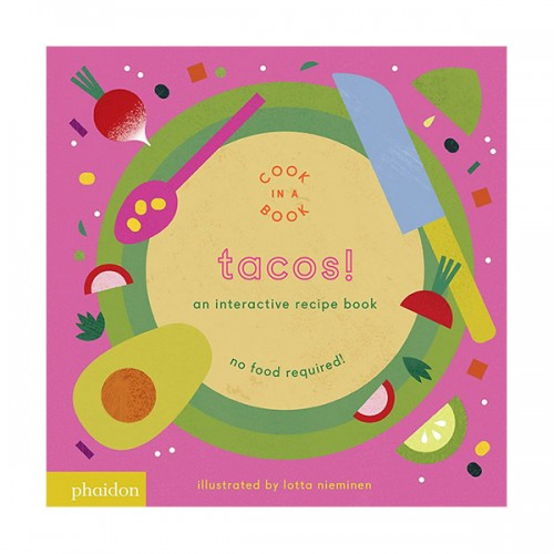 Tacos! : An Interactive Recipe Book (Board book)