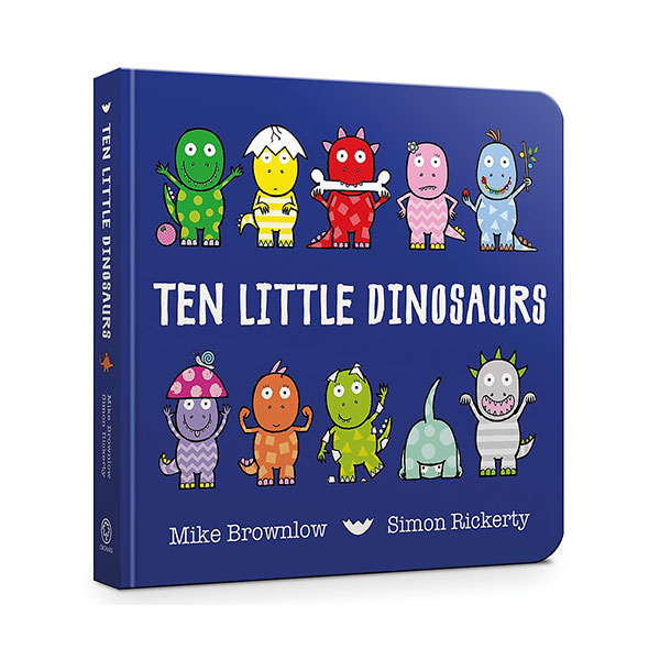 Ten Little Dinosaurs (Board Book, 영국판)