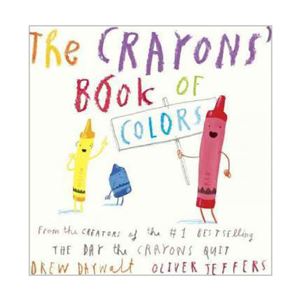 The Crayons' Book of Colors (Board book)