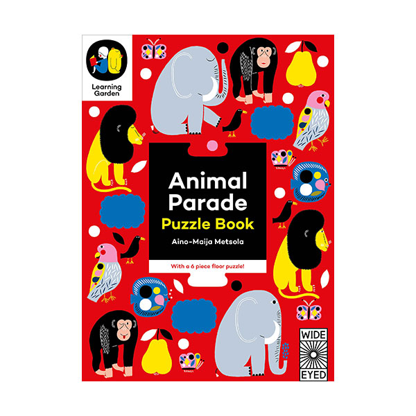 The Learning Garden : Animal Parade : Puzzle Book (Board book)