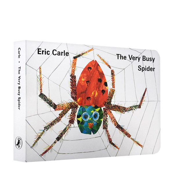 The Very Busy Spider: Board Book (Board Book)