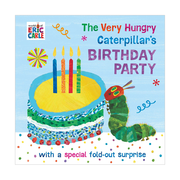 The Very Hungry Caterpillar's Birthday Party (Board book, 영국판)