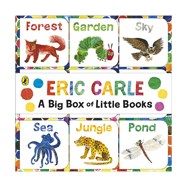 The World of Eric Carle: Big Box of Little Books (Boardbook, 영국판)