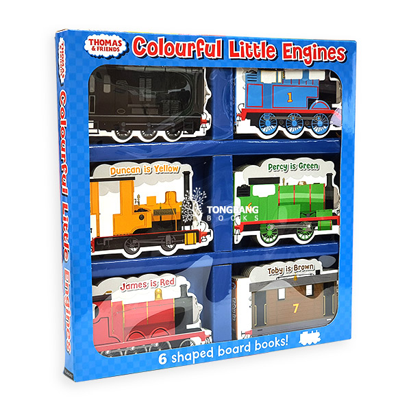 Thomas & Friends: Colourful Little Engines (Board book)