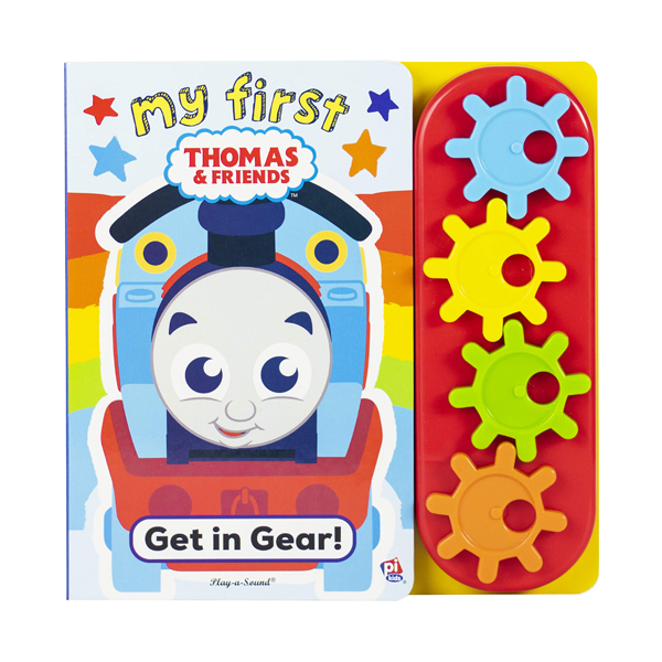 Thomas Go Go Gear Book (Board Book)