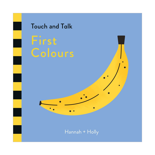 Touch and Talk : First Colours (Board book, 영국판)