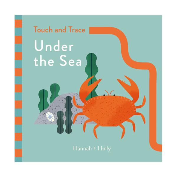 Touch and Trace : Under the Sea (Board book, 영국판)