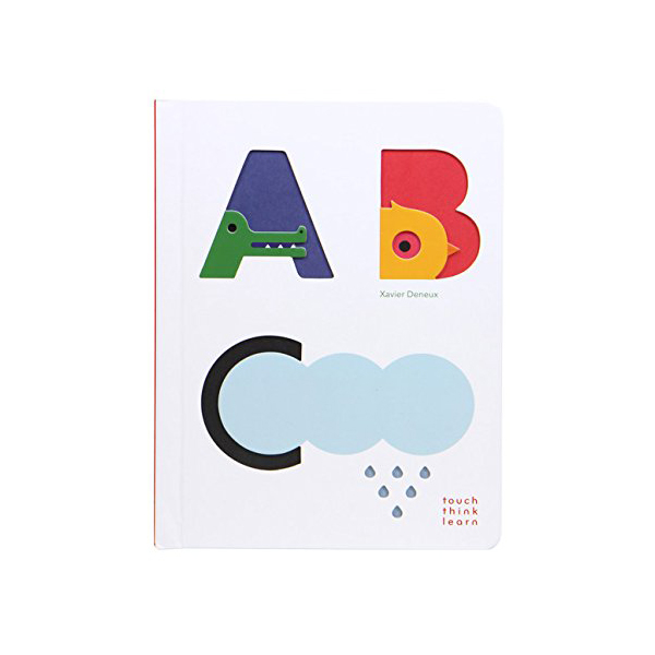 Touch Think Learn : ABC (Board book)