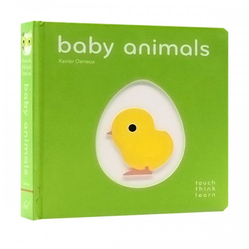 Touch Think Learn : Baby Animals (Board book)