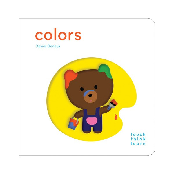 Touch Think Learn : Colors (Board book)