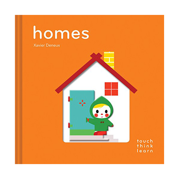 Touch Think Learn : Homes (Board book)