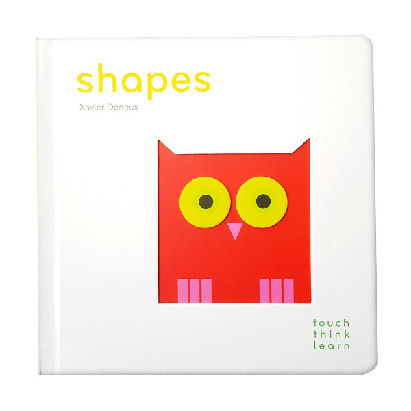 Touch Think Learn : Shapes (Boardbook)