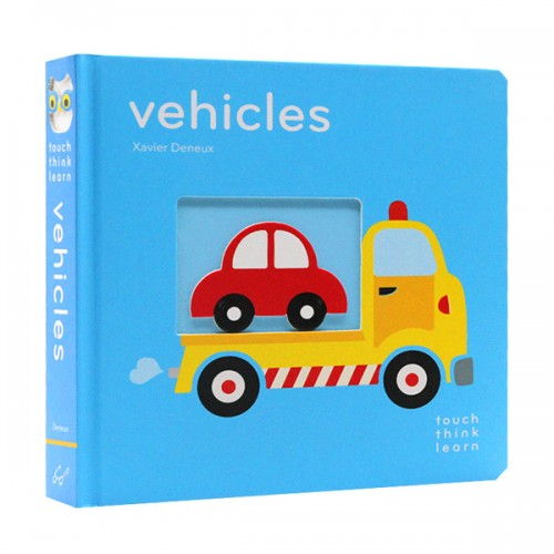Touch Think Learn : Vehicles (Boardbook)