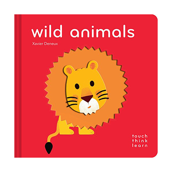 Touch Think Learn : Wild Animals (Board book)