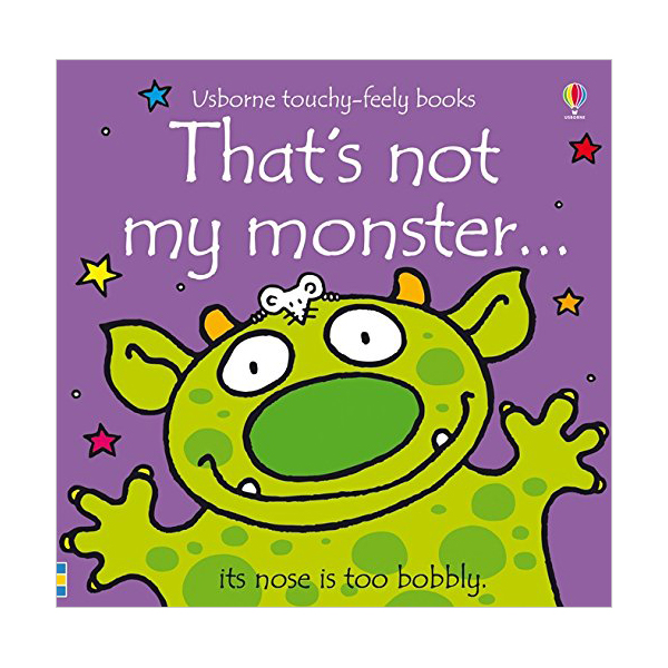 Touchy Feely Books : That's not my monster... (Board book, 영국판)