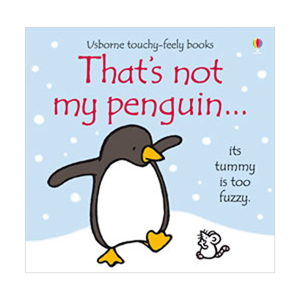 Touchy Feely Books : That's not my penguin... (Board book, 영국판)