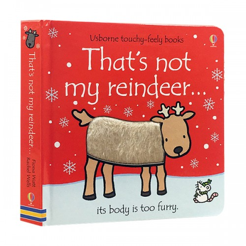 Touchy Feely Books : That's Not My Reindeer... (Board book, 영국판)